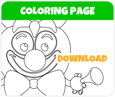Coco Chocolate Cherry tomato coloring page image