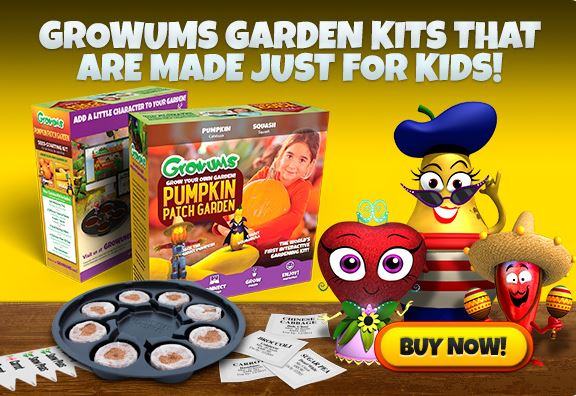 Growums Garden kits home page slide